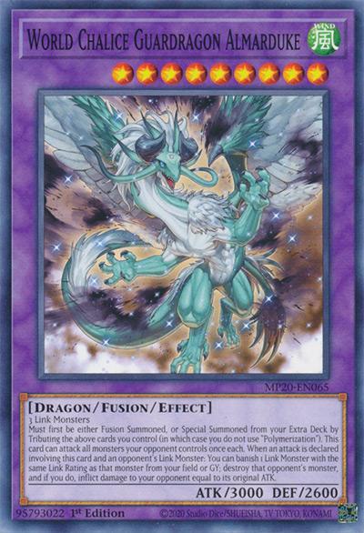 World Chalice Guardragon Armaduke Yu-Gi-Oh Card