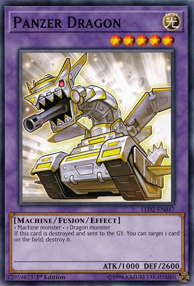 Panzer Dragon Yu-Gi-Oh Card