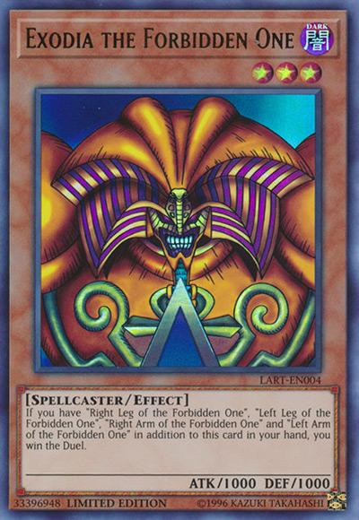 Exodia the Forbidden One Yu-Gi-Oh Card
