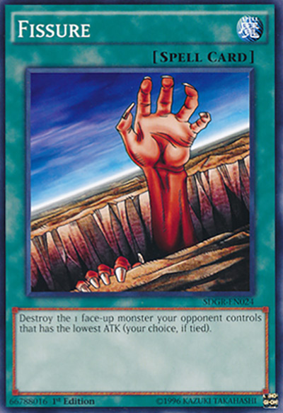 Fissure YGO Card
