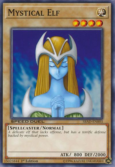 Mystical Elf YGO Card