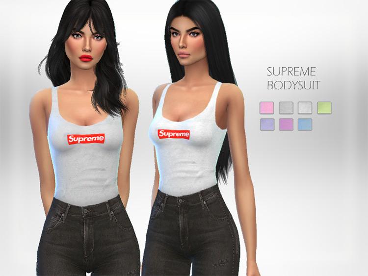Supreme Bodysuit / Sims 4 CC