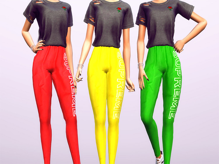 Supreme Joggers CC for The Sims 4