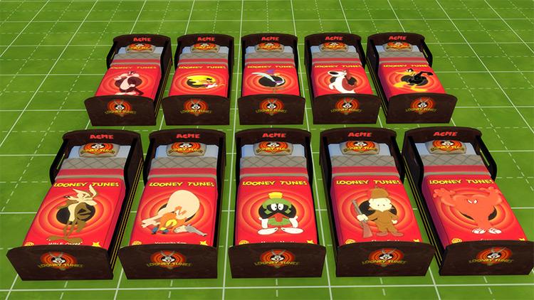 Looney Tunes Toddler Bedding Set / TS4 CC