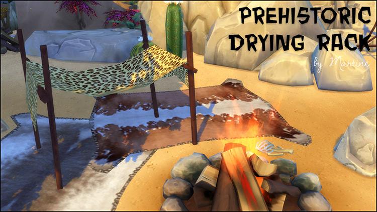 Prehistoric Drying Rack / TS4 CC