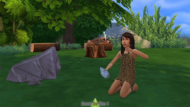 Stone Age Stuff Pack for The Sims 4