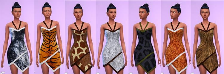 Prehistoric Clothing Set / Sims 4 CC
