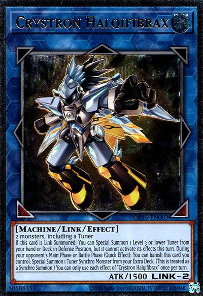 Crystron Halquifibrax YGO Card
