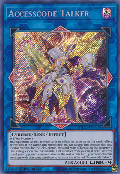 Accesscode Talker Yu-Gi-Oh Card