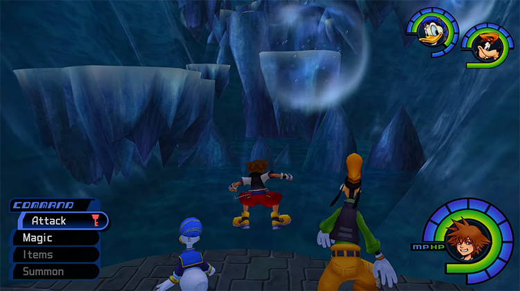 Hollow Bastion World in KH 1.5 HD