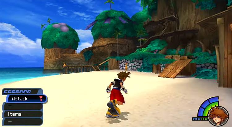 Destiny Islands in Kingdom Hearts I
