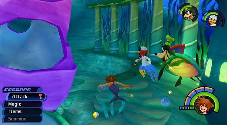 Atlantica in Kingdom Hearts I