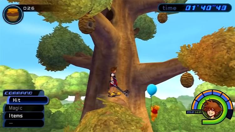 100 Acre Wood in Kingdom Hearts I