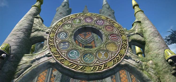 Sanctum of the Twelve / Final Fantasy XIV Screenshot