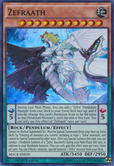 Zefraath Yu-Gi-Oh Card