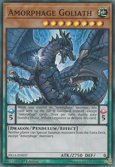 Amorphage Goliath YGO Card