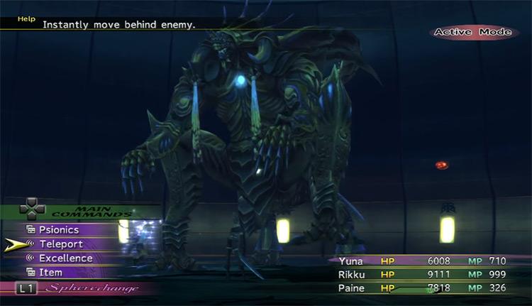 Paragon battle / FFX-2