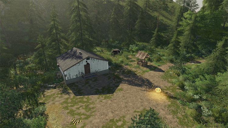 Placeable Selling Points Mod for FS19