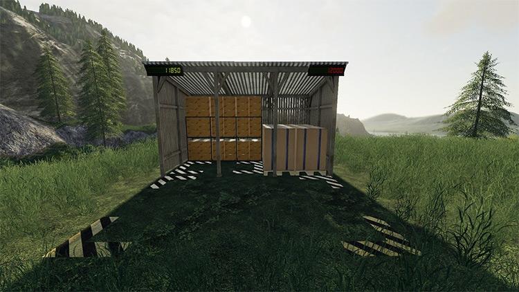 Egg Storage Farming Simulator 19 Mod