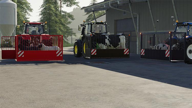 Animal Transporter Mod for FS19
