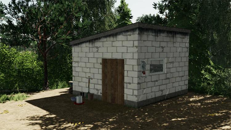 Hen House Farming Simulator 19 Mod