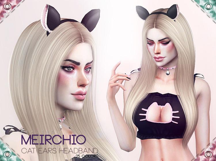 Meirchio Cat Ears Headband / TS4 CC