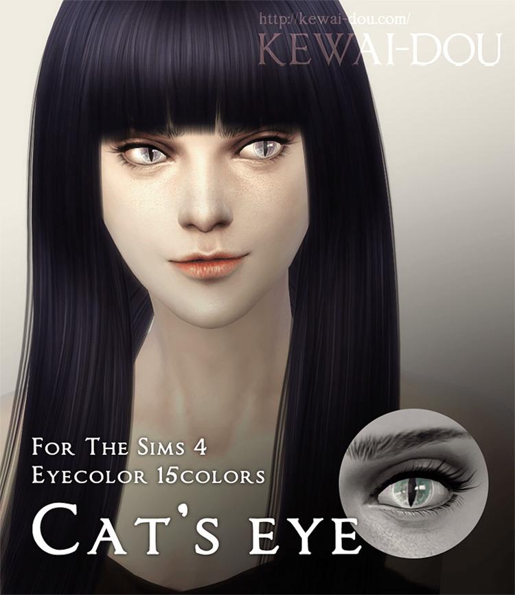 Cat Eyes / Sims 4 CC