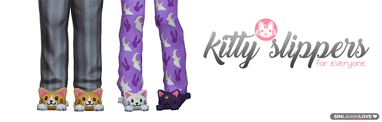 Kitty Slippers TS4 CC