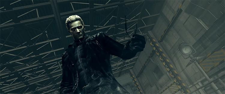 Albert Wesker in Resident Evil 5