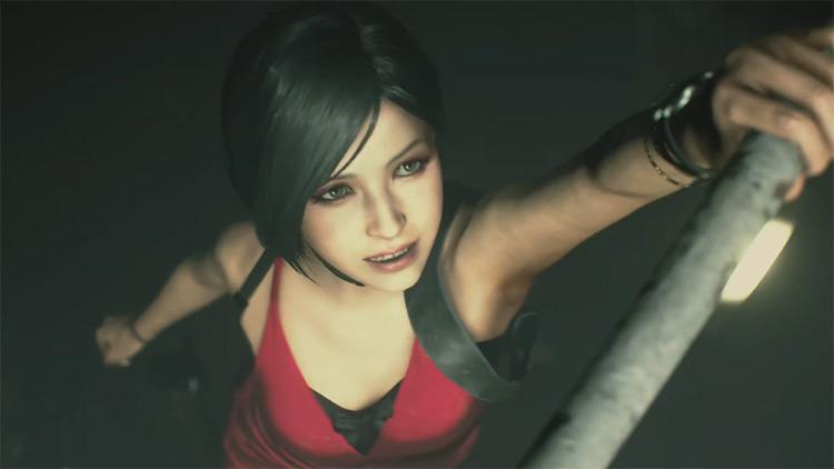 Ada Wong from Resident Evil 2 Remake (screenshot)