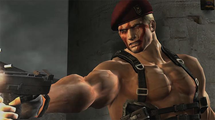 Jack Krauser from Resident Evil 4