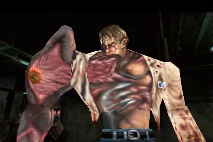 William Birkin in Resident Evil 2