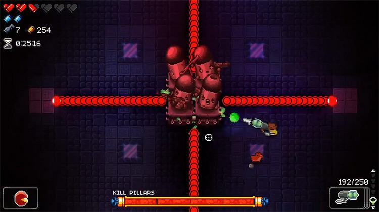 The Kill Pillars in Enter the Gungeon