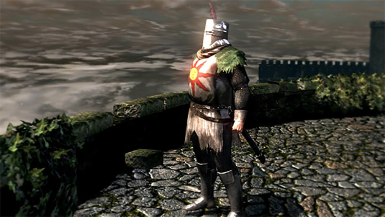 Solaire of Astora from Dark Souls 1 Remastered