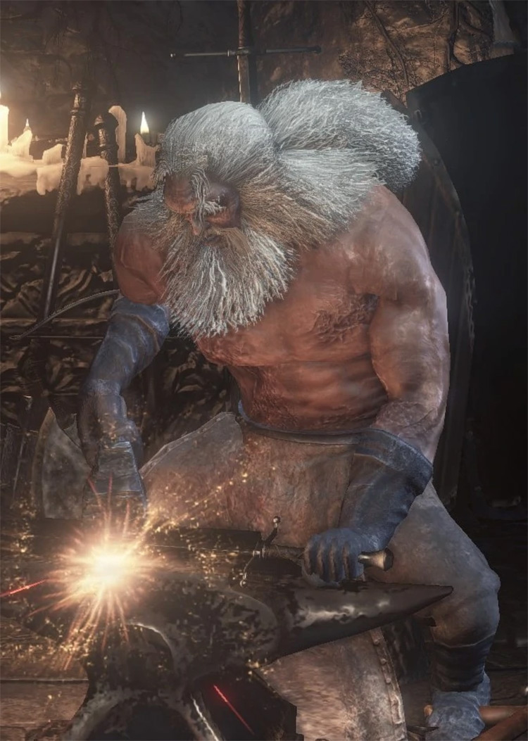 Blacksmith Andre Dark Souls 1 Remastered