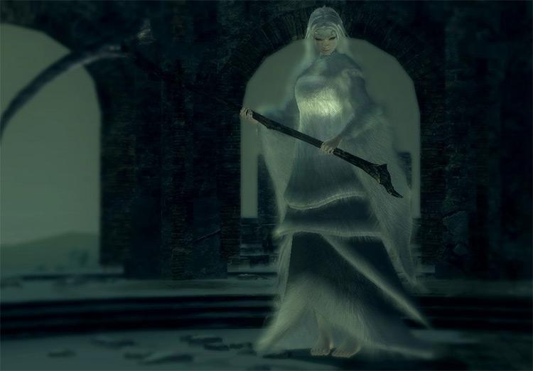 Crossbreed Priscilla from Dark Souls 1 Remastered