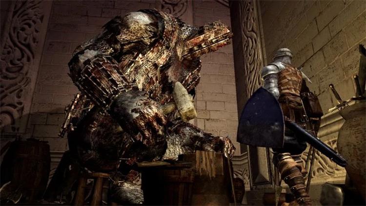 Giant Blacksmith Dark Souls 1 Remastered