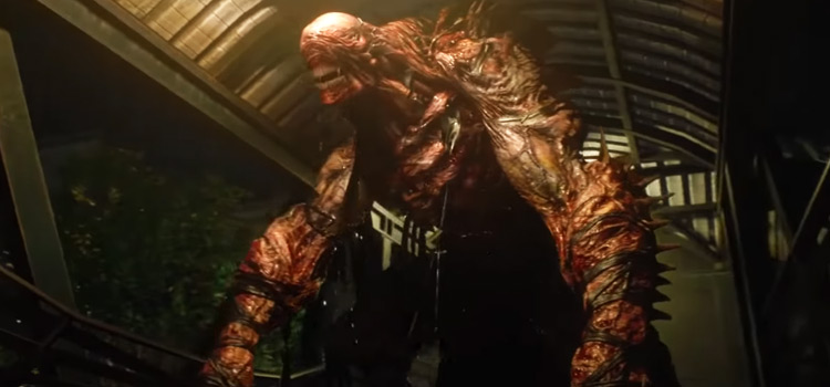 Nemesis from RE3 Remake HD