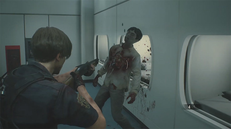 Zombie Creature / Resident Evil 2 Remake screenshot