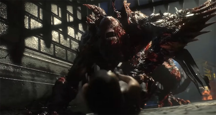 Nemesis from Resident Evil 3 Remake