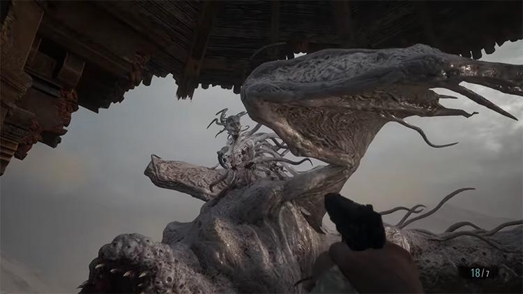 Lady Dimitrescu / Resident Evil Village screenshot
