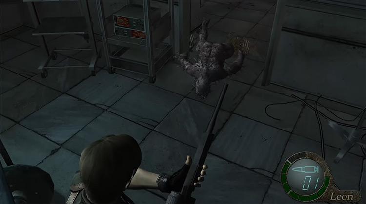 Iron Maiden Monster in Resident Evil 4