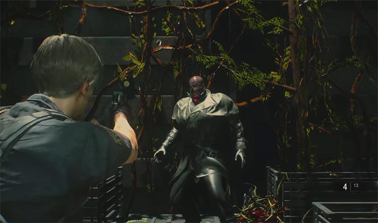 Mr. X / Resident Evil 2 Remake screenshot