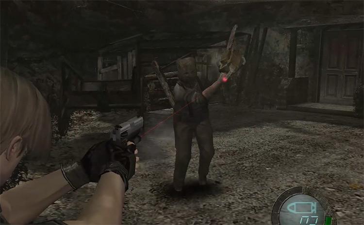Dr. Salvador in Resident Evil 4