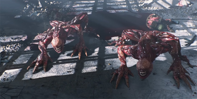 Lickers / Resident Evil: Damnation screenshot