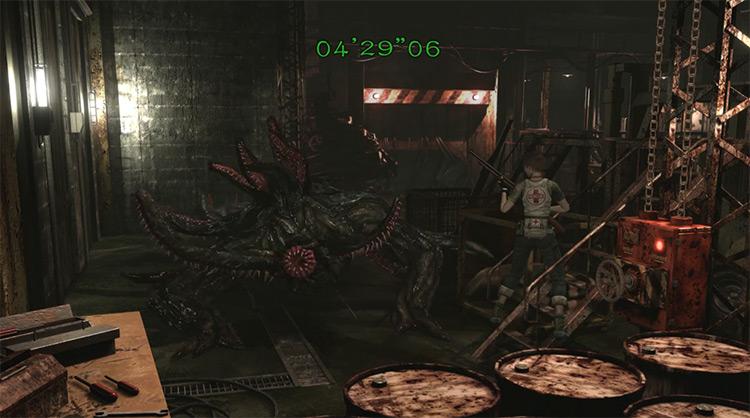 Queen Leech / Resident Evil 0