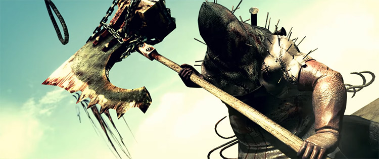 The Executioner in Resident Evil 5