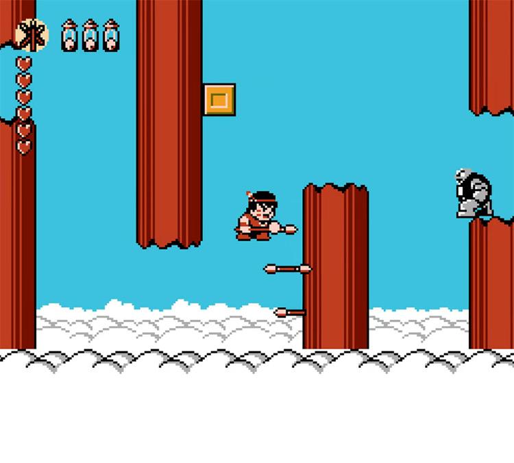 Whomp 'Em NES game