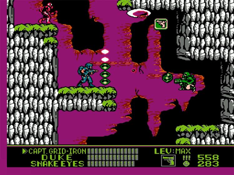 G.I. Joe: A Real American Hero / NES gameplay