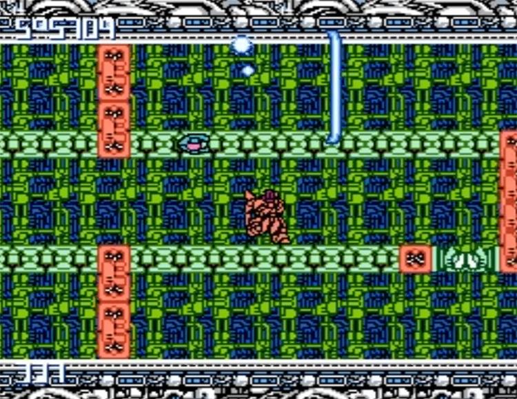 MetalStorm / NES gameplay screenshot